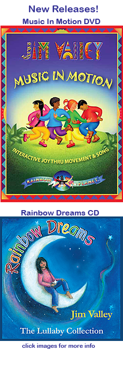 Children's Music New Releases - Rainbow Dreams CD, Music in Motion DVD